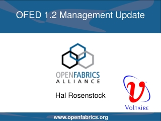 OFED 1.2 Management Update