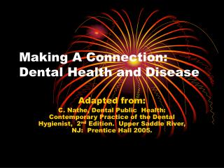 Making A Connection: Dental Health and Disease