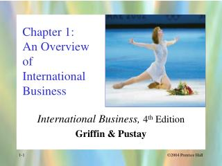 Chapter 1: An Overview  of International Business