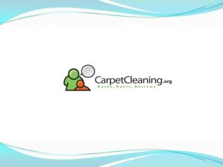 Find the Best Carpet Cleaning in your Neighborhood!
