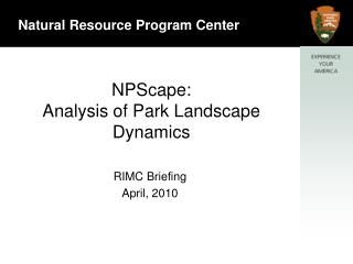 NPScape: Analysis of Park Landscape Dynamics