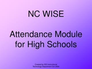 NC WISE