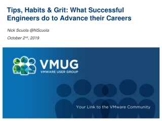 Tips, Habits & Grit: What Successful Engineers do to Advance their Careers