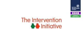 Session Seven Practical Intervention Part Two