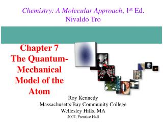 Chapter 7 The Quantum-Mechanical Model of the Atom