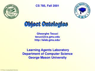 Object Ontologies