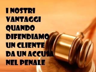 Studio Legale Moscato - I vantaggi di assumerci