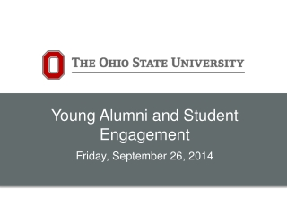 Young Alumni and Student Engagement