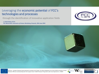 Leveraging the economic potential of FCC's technologies and processes