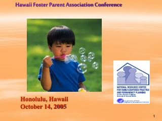 Hawaii Foster Parent Association Conference