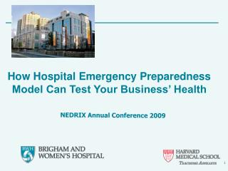 How Hospital Emergency Preparedness Model Can Test Your Business  Health