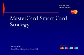 MasterCard Smart Card Strategy