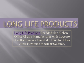 Long Life Products