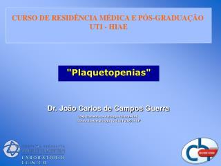 """""""Plaquetopenias"""""""