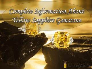 Benefits Of Wearing Yellow Sapphire Gemstone