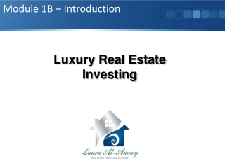 Luxury Real Estate Investing