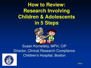 How to Review: Research Involving Children & Adolescents in 5 Steps
