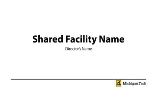 Shared Facility Name