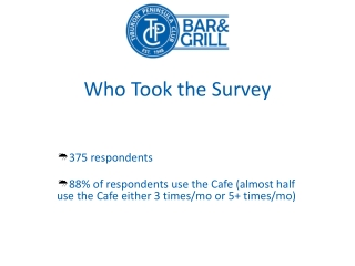 TPC Cafe Committee Member Survey