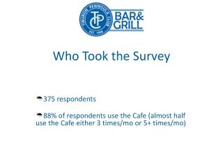 TPC Cafe Committee Member Survey
