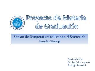 Proyecto de Materia  de Graduación