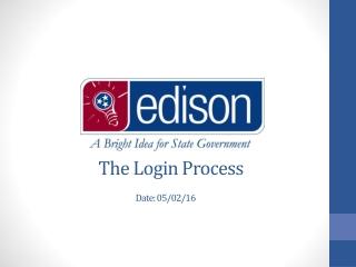 The Login Process