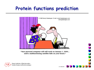 Protein functions prediction