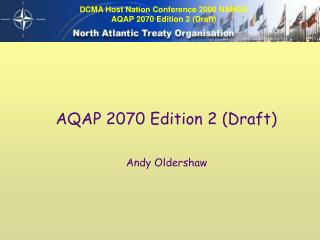 AQAP 2070 Edition 2 (Draft)