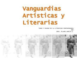 Vanguardias Art sticas y Literarias