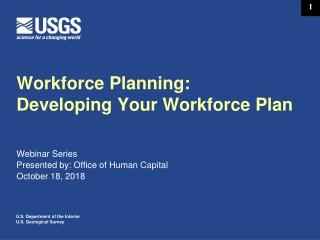 Workforce Planning: Developing Your Workforce Plan