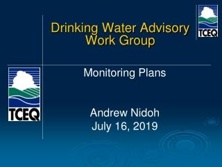 Drinking Water Advisory Work Group