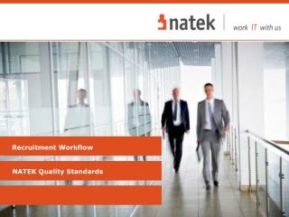 NATEK Quality Standards