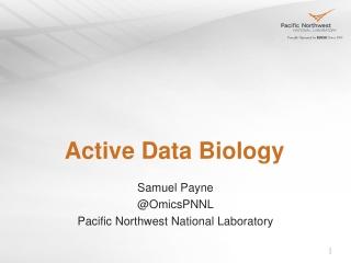 Active Data Biology