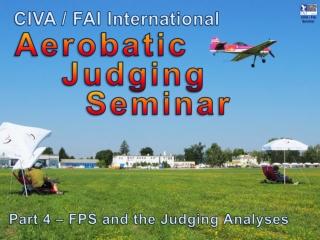 Aerobatic Judging Seminar
