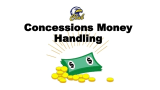 Concessions Money Handling