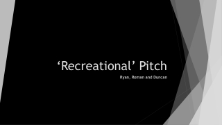 'Recreational' Pitch