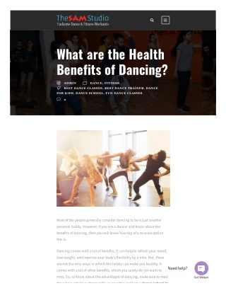 What are the Health Benefits of Dancing?