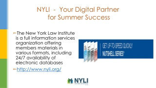 NYLI - Your Digital Partner for Summer Success