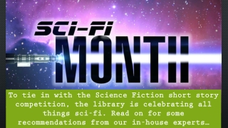 Recommended Science fiction…