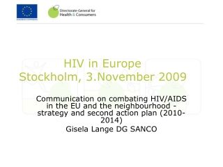 Regional High Level Consultation on HIV and the Law