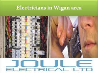electricians in Wigan area