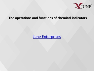 The operations and functions of chemical indicator