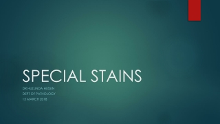 SPECIAL STAINS