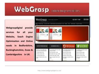 WebGrasp website design and delivery