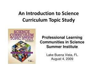 An Introduction to Science Curriculum Topic Study