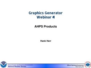 Graphics Generator Webinar #1