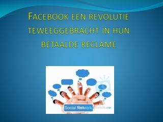 Brdley Associates Info Facebook een revolutie teweeggebracht