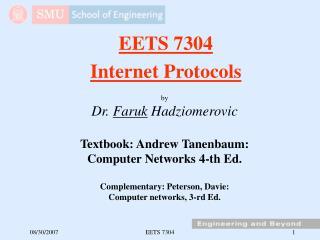 EETS 7304 Internet Protocols