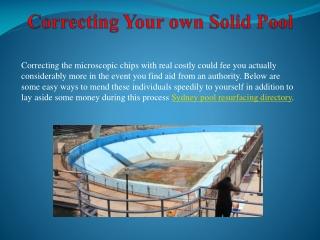 pool surface repair