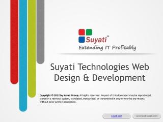 Web design and Software Development Company India - Suyati